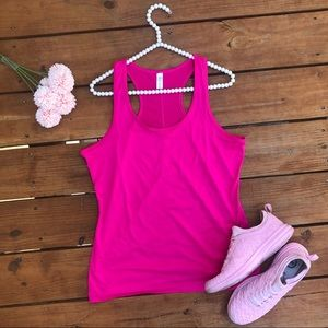 GAP Pink Workout Tank Top